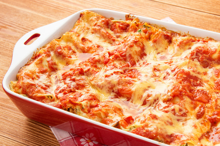 Home Made Mom's Lasagna Tray 1.5 KG 6/8 portion cooked