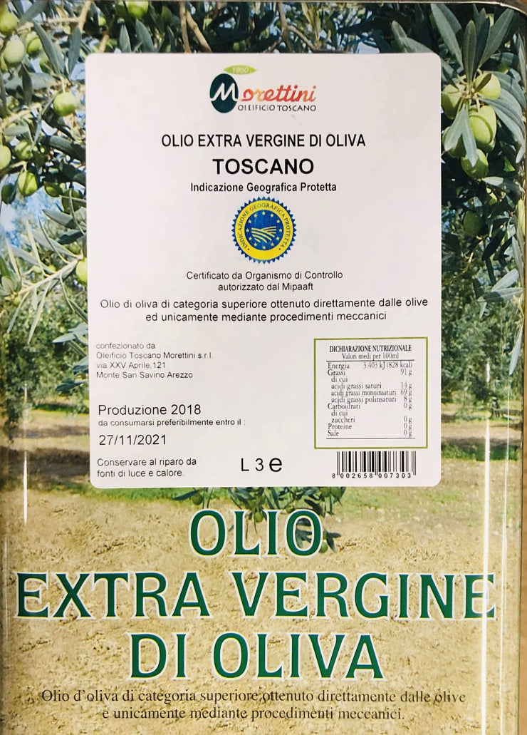 Tuscan IGP extra virgin olive oil