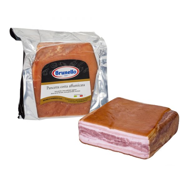COOKED AND SMOKED PANCETTA BRUNELLO - 100g - MERCATO GOURMET