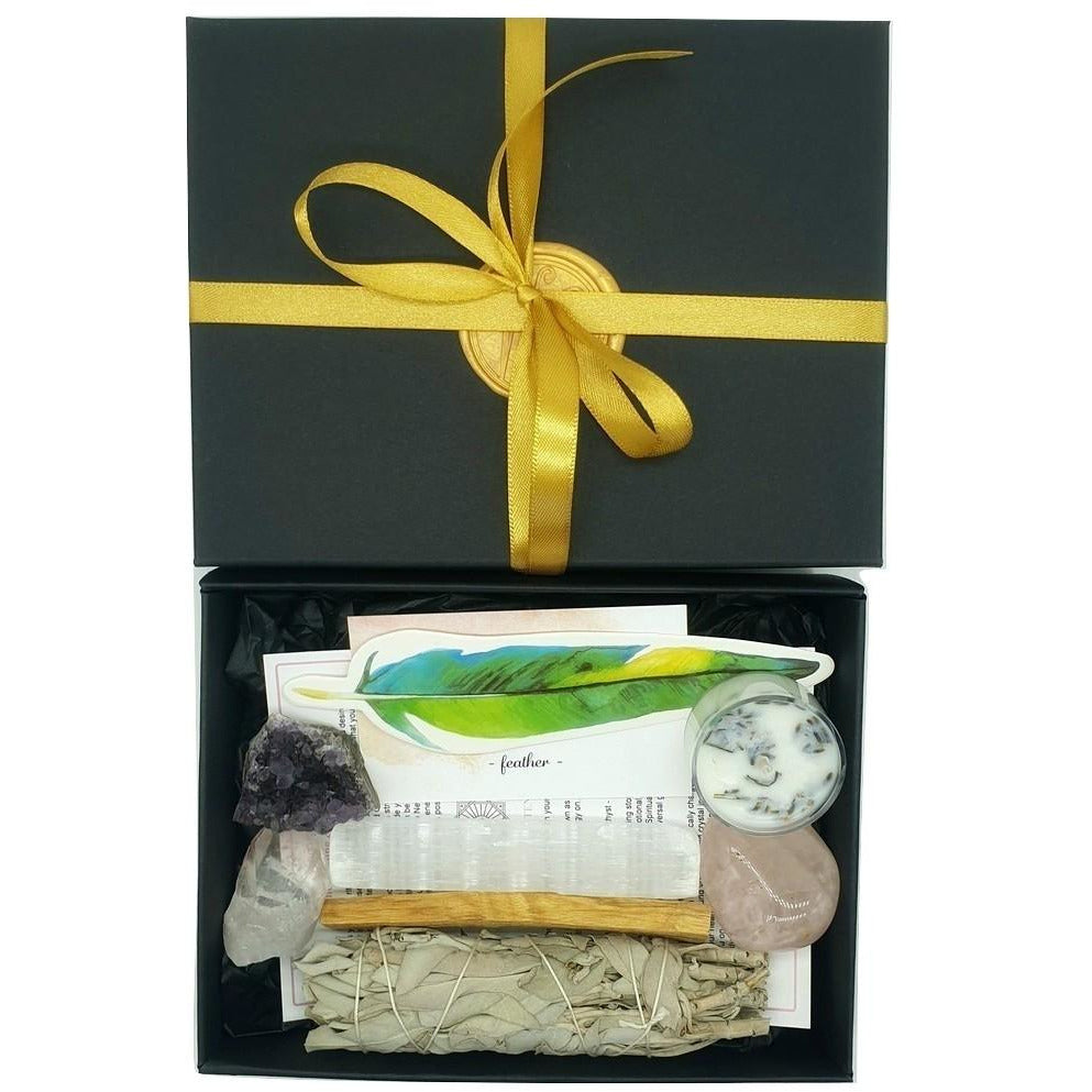 Wellness & Healing Ritual Kit & Feng Shui Ring