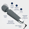 Yarosi - Mini Massager - Grey
