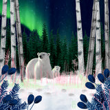 Alaskan Polar Bears - 351 Piece Wooden Jigsaw Puzzle