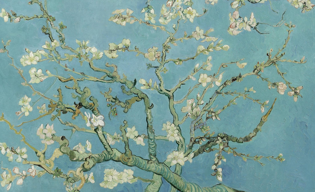 Almond Blossoms by Vincent Van Gogh (50 Piece Wooden Jigsaw Puzzle)