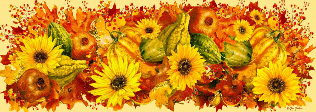 Autumn Harvest (122 Piece Autumn Wooden Jigsaw Puzzle)