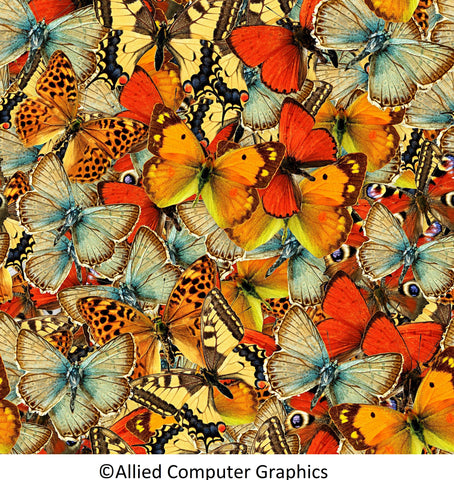 Beautiful Butterflies (143 Piece Wooden Jigsaw Puzzle)