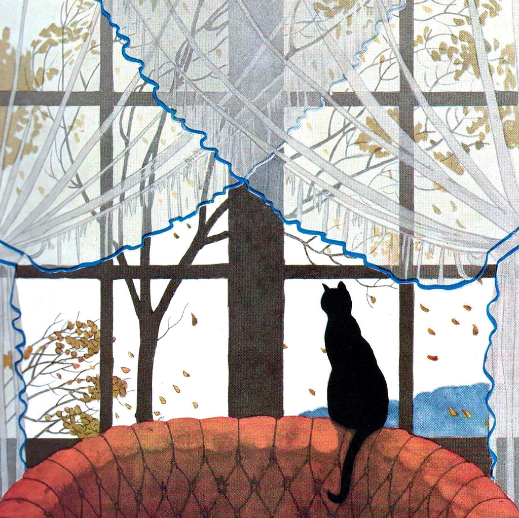 Cat in the Window - 215 Piece Wooden Jigsaw Puzzle