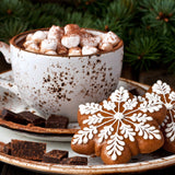 Christmas Cocoa Time - 200 Piece Wooden Jigsaw Puzzle