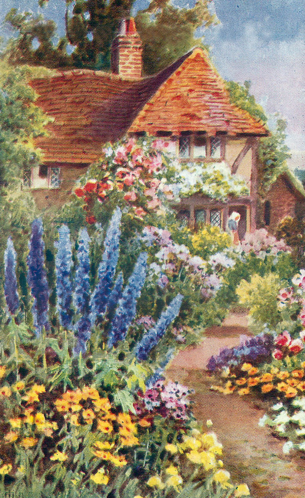 Classic English Cottage (47 Piece Mini Wooden Jigsaw Puzzle)