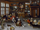 Collector's Cabinet by Brueghel the Elder and Hieronymus Francken (601 Piece Wooden Jigsaw Puzzle)