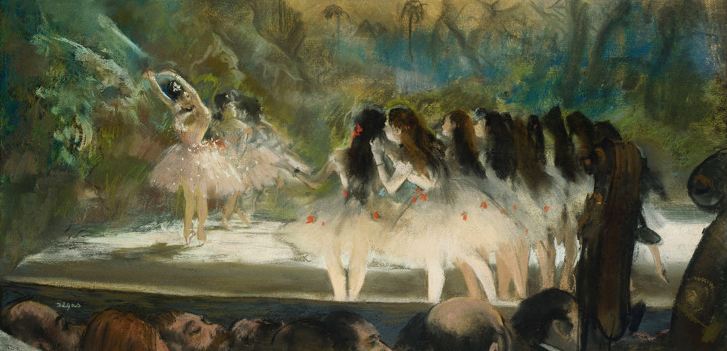 Dance At The Paris Opera by Edgar Degas (292 Piece Wooden Jigsaw Puzzle)