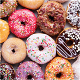 Donut Go Breakin' My Heart (186 Piece Wooden Jigsaw Puzzle)