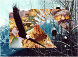Eagles Flight - 481 Piece Wooden Jigsaw Puzzle