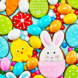 Easter Cookies (60 Piece Mini Wooden Jigsaw Puzzle)