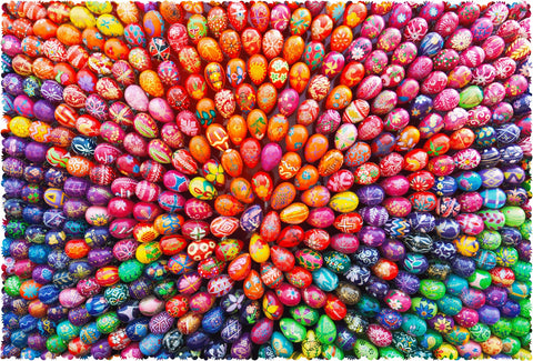 Easter Spiral (420 Piece Wooden Jigsaw Puzzle)