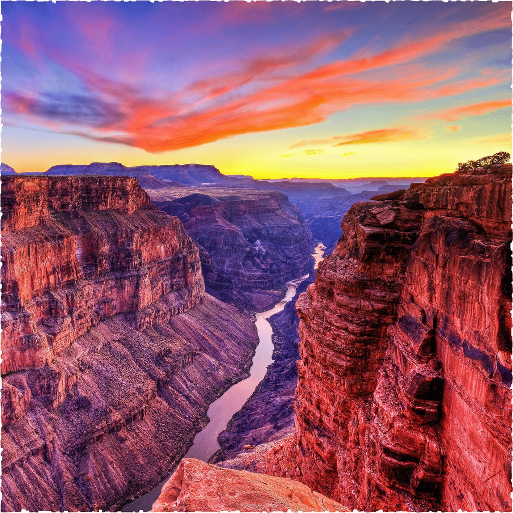 Grand Canyon - Toroweap Twilight (253 Pieces) Wooden Jigsaw Puzzle