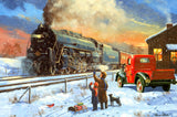 Home For Christmas (299 Piece Wooden Jigsaw Puzzle)