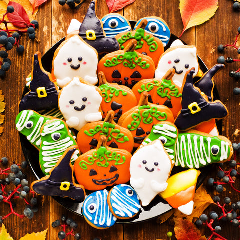 Halloween Cookies (47 Piece Mini Halloween Wooden Jigsaw Puzzle)