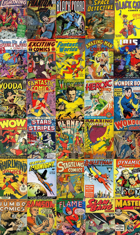 Hey Kids, Comics! (472 Piece Wooden Jigsaw Puzzle)