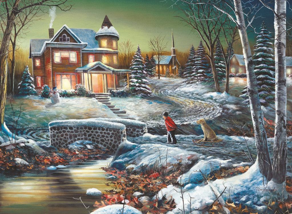 Homeward Bound (358 Piece Wooden Jigsaw Puzzle)