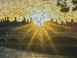 Westminster Sunset, London (350 Piece Wooden Jigsaw Puzzle)