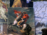 Great Paintings (366 Piece Wooden Jigsaw Puzzle)