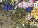 Flower Still Life, 1614 by Ambrosius Bosschaert the Elder (172 Piece Wooden Jigsaw Puzzle)