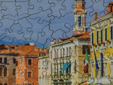 Rush Hour, Venice - 300 Piece Wooden Jigsaw Puzzle