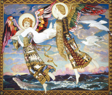 Saint Bride (352 Piece Wooden Jigsaw Puzzle)