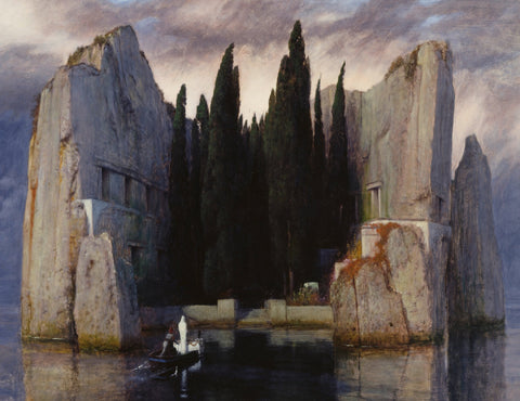 The Isle Of The Dead by Arnold Böcklin (510 Pieces) Luxury Wooden Jigsaw Puzzle