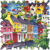 Kenmare, Ireland (287 Piece Shaped Wooden Jigsaw Puzzle)