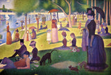 A Sunday Afternoon on the Island of La Grande Jatte (387 Pieces) Wooden Jigsaw Puzzle