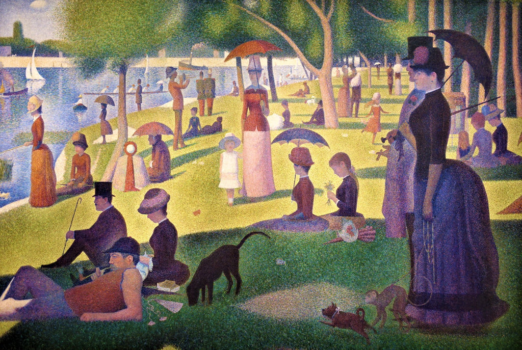 A Sunday on La Grande Jatte (50 Pieces) Mini Wooden Jigsaw Puzzle