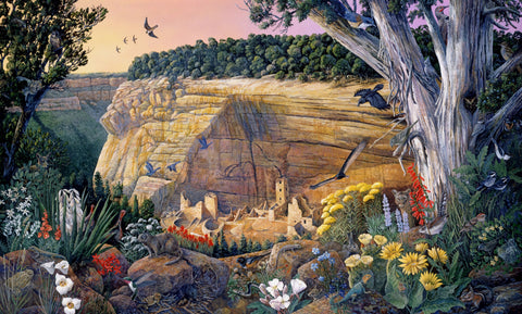 Mesa Verde, Colorado (517 Piece Wooden Jigsaw Puzzle)