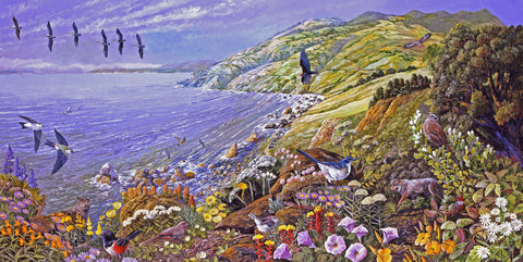 Marin Headlands, National Recreation Area (475 Piece Wooden Jigsaw Puzzle)