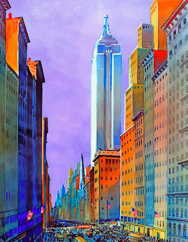 5th Avenue, New York City (334 Piece Wooden Jigsaw Puzzle)
