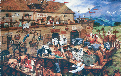 Noah's Ark (560 Pieces) - Luxury Wooden Puzzle