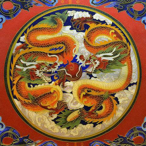 Peking Dragon (150 Piece Wooden Jigsaw Puzzle)