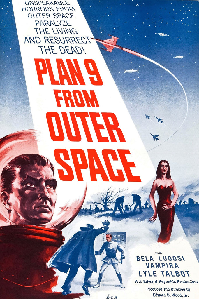 Plan 9 from Outer Space (108 Piece Wooden Jigsaw Puzzle)
