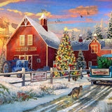 Red Barn Farm - 200 Piece Wooden Jigsaw Puzzle