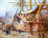 Restoring The HMS Victory (425 Pieces) by William Lionel Wylie