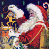 Santa Checking The Toys (248 Pieces) Christmas Puzzle by Norman Price