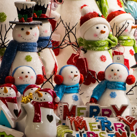 Smiling Snowmen (51 Piece Mini Christmas Wooden Jigsaw Puzzle)