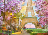 Spring in Paris (387 Piece Wooden Jigsaw Puzzle)
