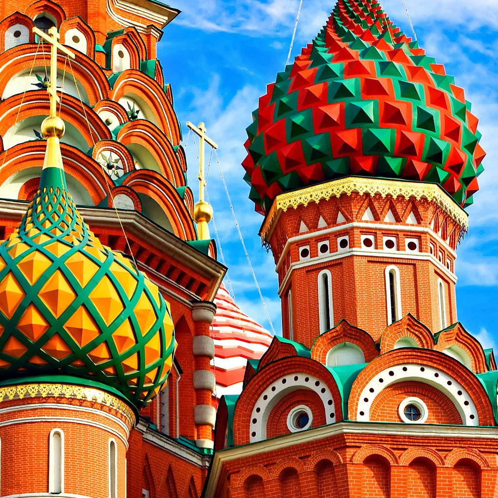 St Basil's Cathedral, Moscow - 255 Piece Wooden Jigsaw Puzzle