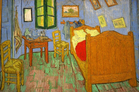 Bedroom in Arles by Vincent Van Gogh (50 Piece Wooden Jigsaw Puzzle)