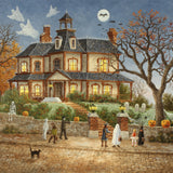 You Go First! (50 Piece Mini Halloween Wooden Jigsaw Puzzle)