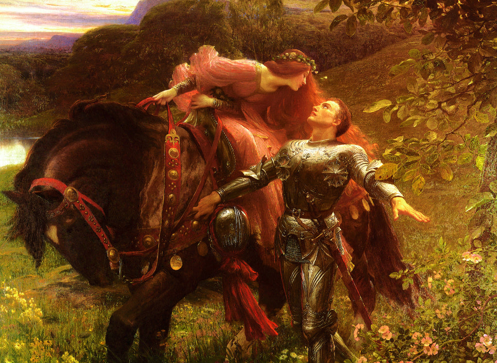 La Belle Dame sans Merci by Sir Francis Dicksee (437 Piece Wooden Jigsaw Puzzle)