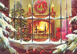 A Cozy Christmas (51 Piece Mini Christmas Wooden Jigsaw Puzzle)