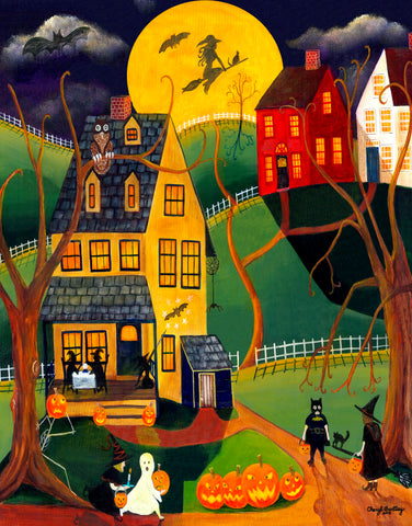 Halloween Trick or Treat - 256 Piece Wooden Jigsaw Puzzle