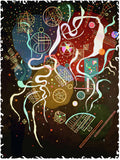 Movement 1 (279 Pieces) by Wassily Kandinsky, Wooden Jigsaw Puzzle